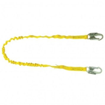 6' Double Leg Internal Shock Lanyard - for Safety Harness
