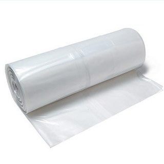 4 Mil Clear Plastic Sheeting Roll - Visqueen - Dust Barrier
