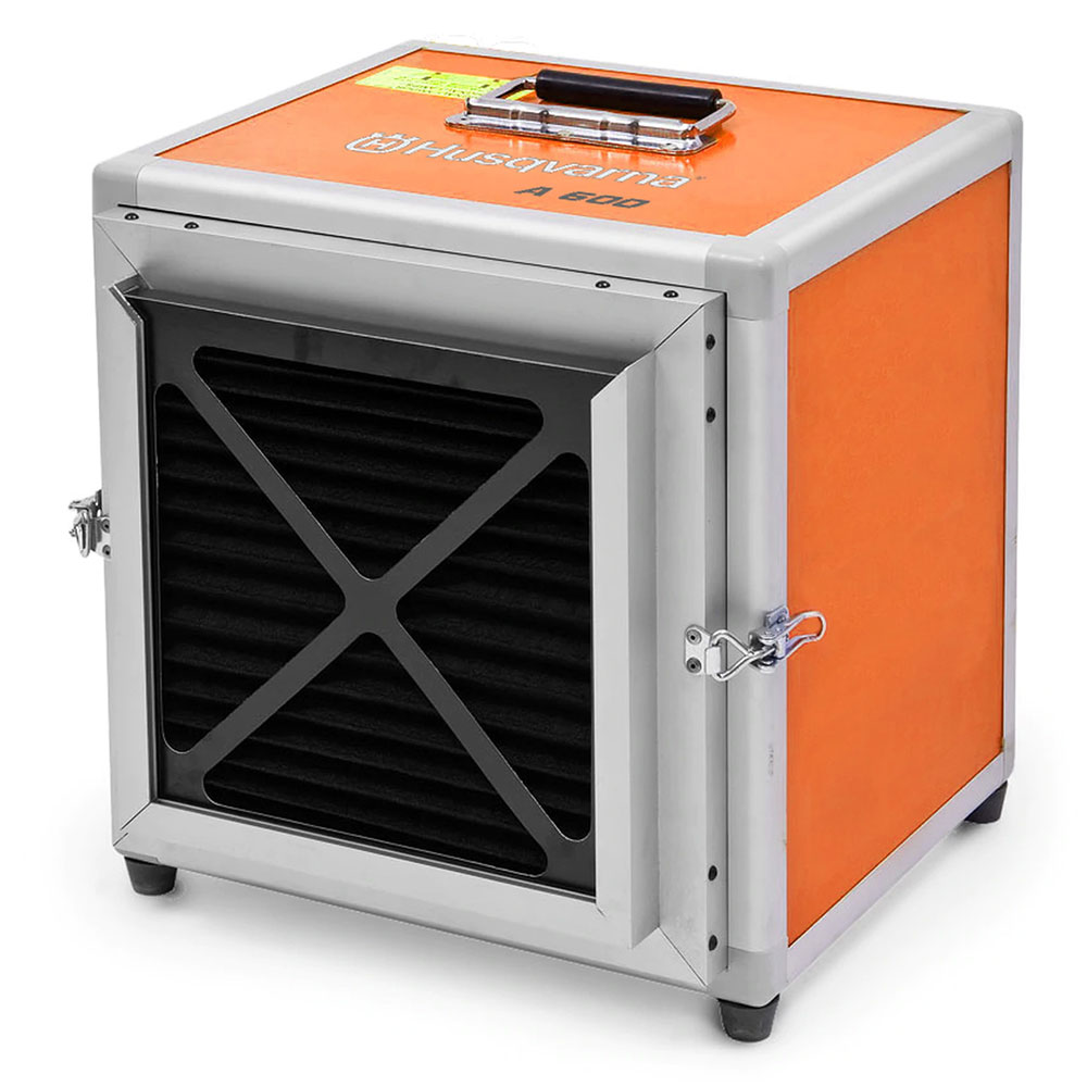 Husqvarna A600 - Negative Air Machine - Scrubber - HEPA Filter (Formerly Pullman Ermator)