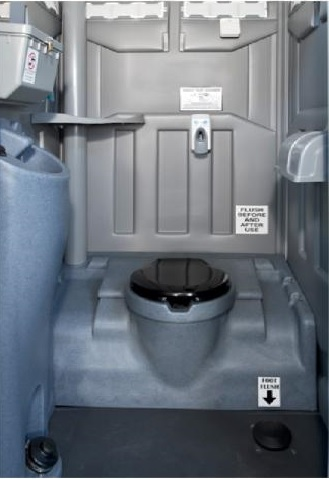 PolyPortable Foot Flush w/ Pro 12 - for Port a Potty