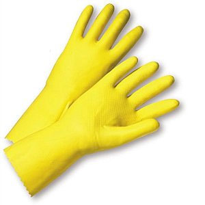 West Chester Yellow Latex Rubber Glove 2312 (Dozen)