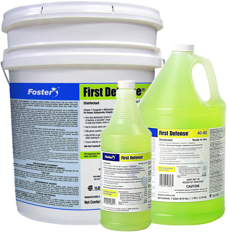 Foster First Defense 40-80 Disinfectant