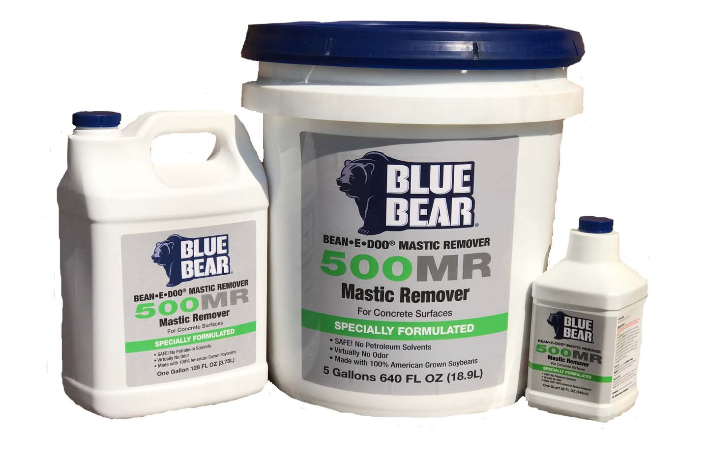 Mastic Removers Blue Bear 500 Mr Bean E Doo Sentinel 626