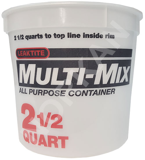 Encore 2 1/2 Qt Mixing Container W/Graduations
