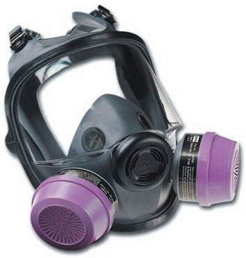 North 54001 Full Face Respirator Mask