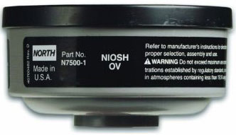 North Respirator Cartridge NORN7500 | Organic Vapor