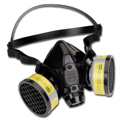 north 5500 half mask respirator manual