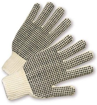 West Chester String Knit Gloves W/ PVC Dots 708SKBS