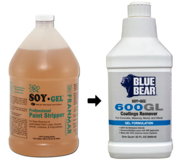 Soy Gel to Blue Bear Name Change
